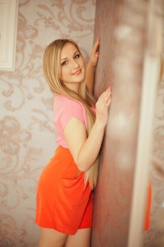 Olya from Poltava 20 years - attractive lady. My mid primary photo.