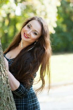 Katerina from Poltava 21 years - bright smile. My mid primary photo.
