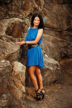 Irina from Dnepropetrovsk 42 years - Music-lover girl. My small primary photo.