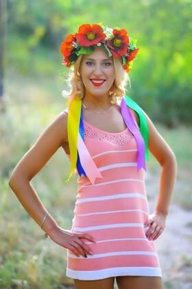 Marina from Dnepropetrovsk 32 years - romantic girl. My small primary photo.