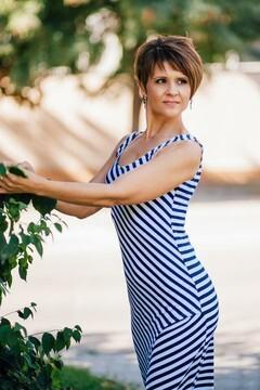 Oksana from Cherkasy 40 years - girl for marriage. My small primary photo.