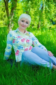 Svitlana from Lutsk 41 years - desirable woman. My small primary photo.
