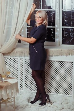 Lyudmila from Dnepropetrovsk 37 years - girl for marriage. My small primary photo.