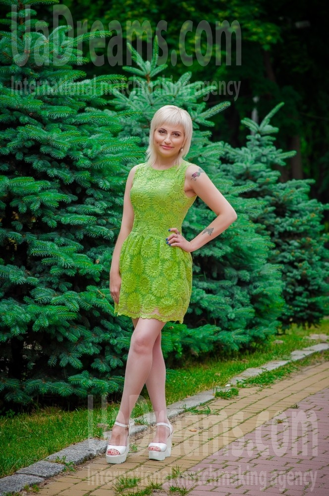 Marina from Dnipro 35 years - cool photo shooting. My small public photo.