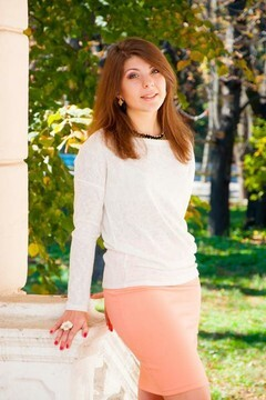 Lera from Odessa 20 years - great weather. My small primary photo.