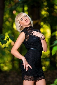 Natasha from Cherkasy 29 years - girl for marriage. My mid primary photo.