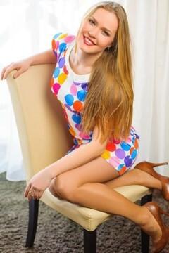 Yulia from Ivanofrankovsk 28 years - nice smile. My mid primary photo.