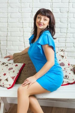 Lilia from Ivanofrankovsk 40 years - amazing girl. My mid primary photo.