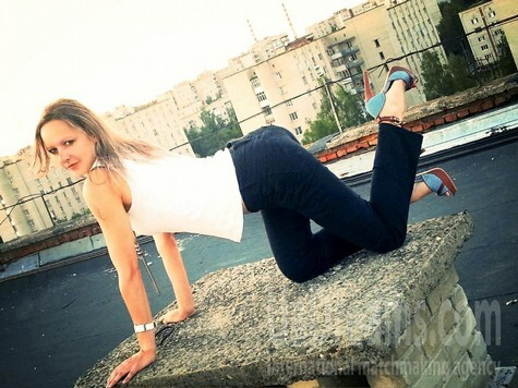 Irina from Lutsk 27 years - waiting for husband. My small public photo.