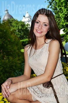 Tanya from Lutsk 26 years - future bride. My small public photo.