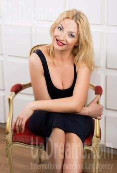 Inna from Lutsk 34 years - bride for you. My small public photo.