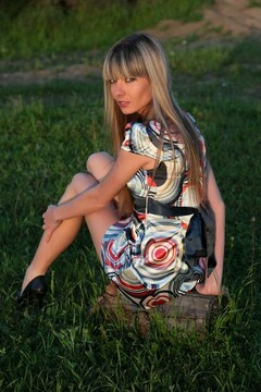 Anya from Simferopol 26 years - natural beauty. My mid primary photo.