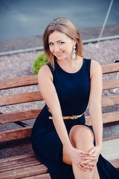 Natalia from Poltava 26 years - bright smile. My mid primary photo.
