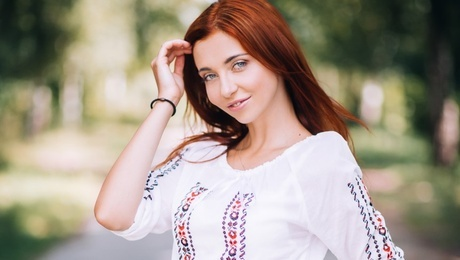 Anastacia from Lutsk 21 years - natural beauty. My mid primary photo.