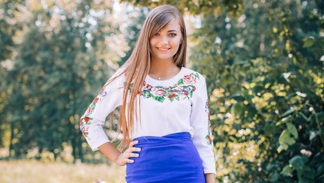 Julia from Zaporozhye 26 years - waiting for you. My mid primary photo.