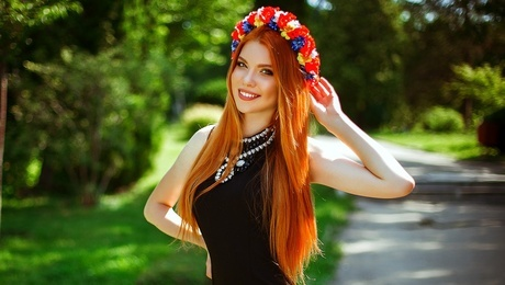 Dasha from Kiev 19 years - intelligent lady. My mid primary photo.