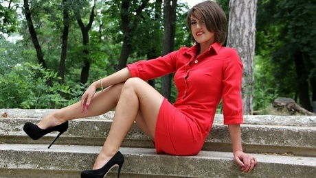 Galia from Odessa 27 years - girl for marriage. My mid primary photo.