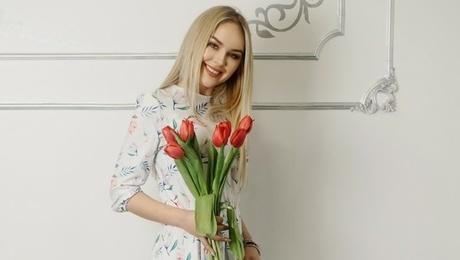 Tamara from Ivanofrankovsk 24 years - romantic girl. My mid primary photo.
