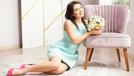 Zhenya from Ivanofrankovsk 26 years - sexy lady. My mid primary photo.