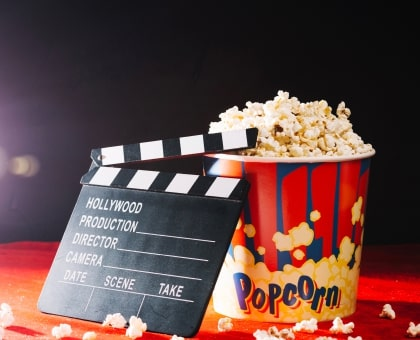 Tickets to the Cinema + big popcorn pack. Shop in Ukrainian Marriage Agency.