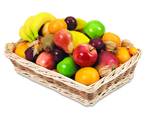Basket of Fruit. Shop in Ukrainian Marriage Agency.