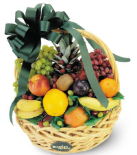 Medium basket of Fruit. Shop in Ukrainian Marriage Agency.
