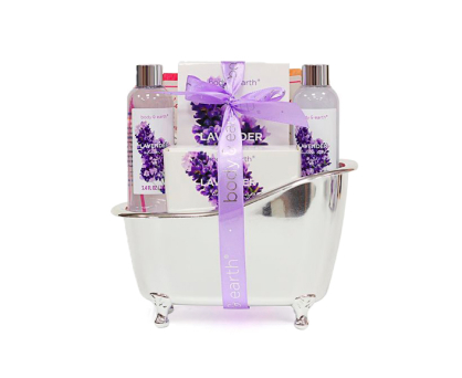 Lavender Relaxation Spa Basket. Shop in Ukrainian Marriage Agency.