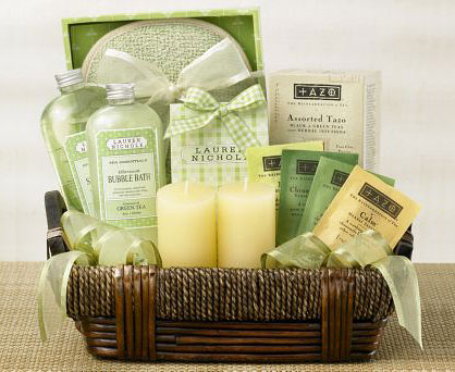 Spa Getaway Basket. Shop in Ukrainian Marriage Agency.