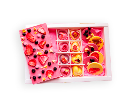 Box of Chocolates Heart. Shop in Ukrainian Marriage Agency.