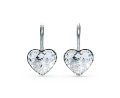 Heartshaped earrings. Shop in Ukrainian Marriage Agency.