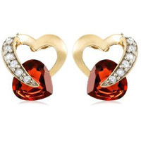 Heartshaped earrings