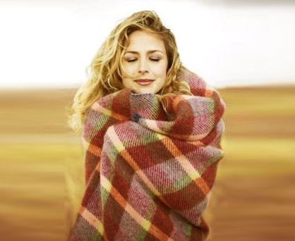 Plaid blanket. Shop in Ukrainian Marriage Agency.