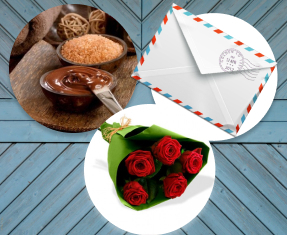 "Geschenkpaket ""Schokolade"". Shop in Ukrainian Marriage Agency."