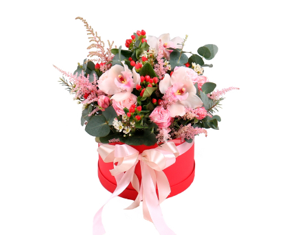 Valentine's bouquet. Shop in Ukrainian Marriage Agency.