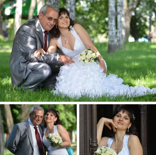 Murat and Lena met on UaDreams.com