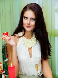 Beautiful photo of the bride Inna from Ukraine
