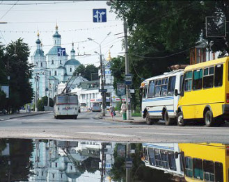 Your trip in Sumy will be very romantic