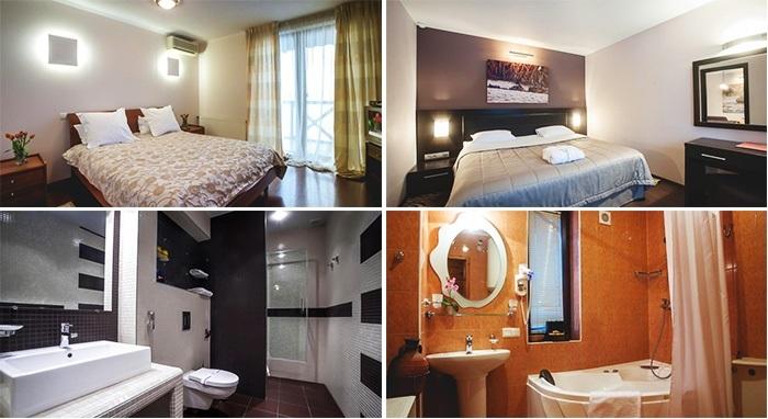 «delux» hotel room, Dnipropetrovsk