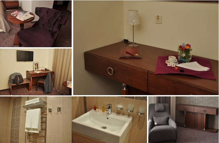 «golden» room for dating at the hotel, Dnipropetrovsk