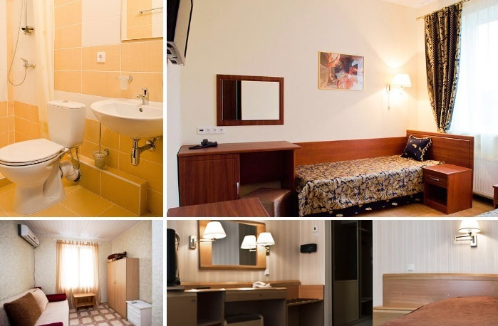 Cosy single room at the hotel for dating trip in Ivano-Frankivsk