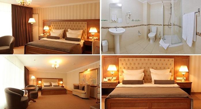 «delux» hotel room, Ivano-Frankivsk