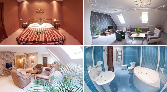 «delux» hotel room, Kharkiv