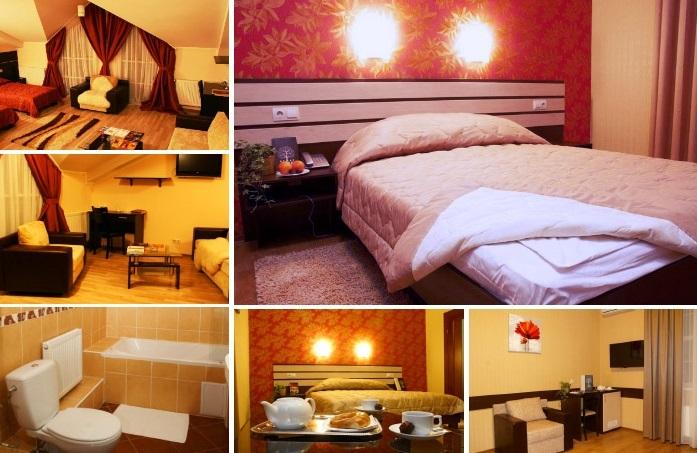 «golden» room for dating at the hotel, Kharkiv