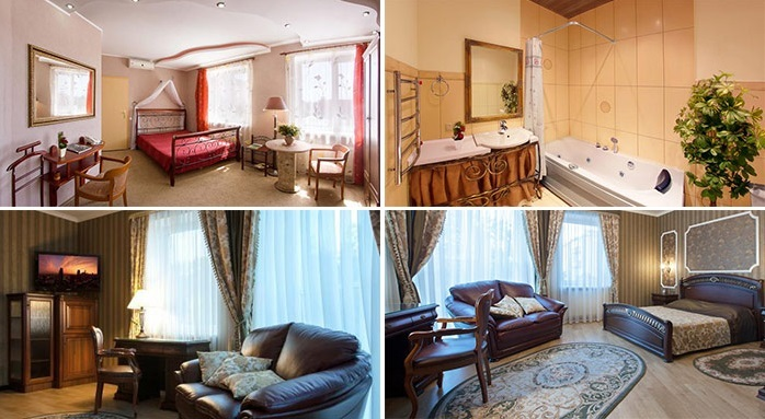 «delux» hotel room, Kremenchuk