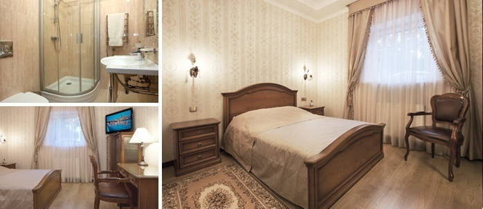 «golden» room for dating at the hotel, Kremenchuk