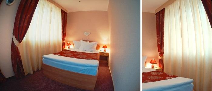«golden» room for dating at the hotel, Lutsk