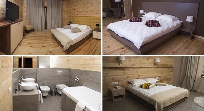 «delux» hotel room, Lutsk