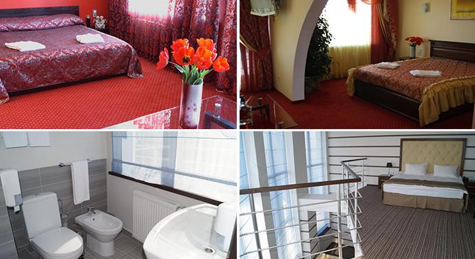 «delux» hotel room, Mykolaiv