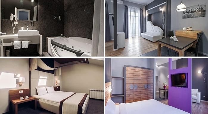 «delux» hotel room, Odesa