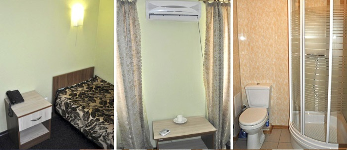 «silver» room for dating at the hotel